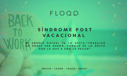 Sindrome post-vacacional