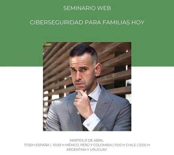 CIBERSEGURIDAD PARA FAMILIAS HOY